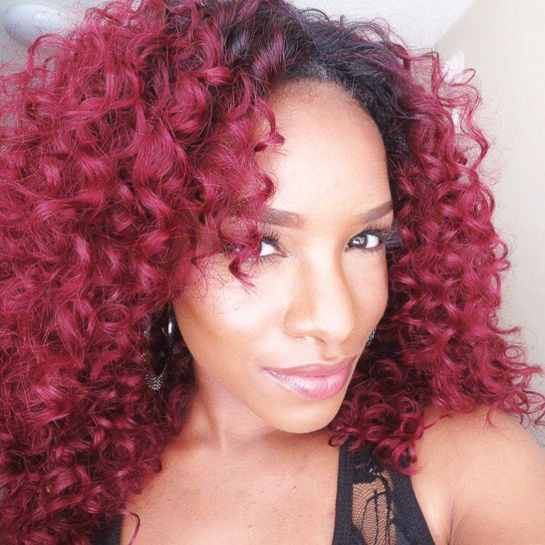 Cute Rihanna inspired red hair | Hair styles, Mermaid hair