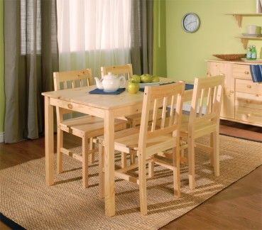 Jonas didn't spend days and nights in a whale's belly. That was another guy. When he built the Jonas 5PC Dining Set he wanted something that was durable, practical and could fit in smaller spaces. Quite a craftsman, he created this scaled down version of a farmer's table and chairs...