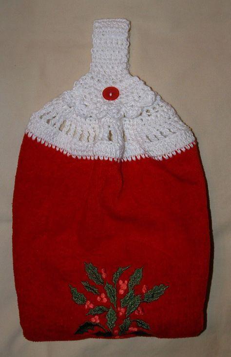 Double Layer Towel Topper Crochet Pattern My Grandmas Always Had