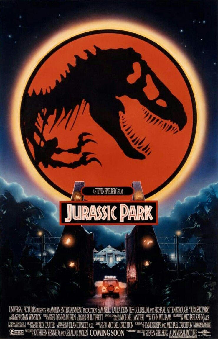 jurassic park movie poster   movie art in 2018   pinterest