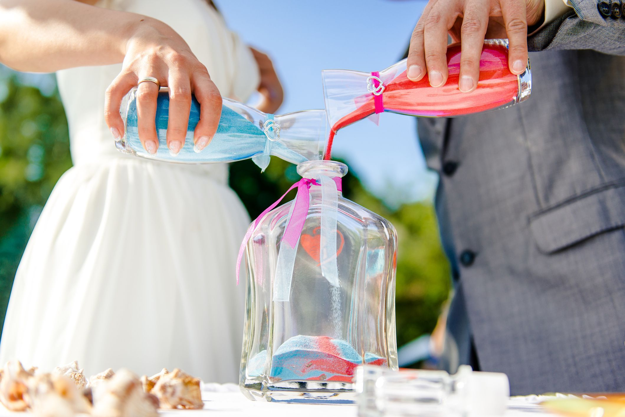 Get Inspired With These Examples For Sand Ceremony Wedding Vows