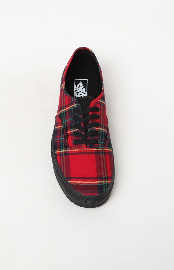 eb6ae5fcdb7528 Vans Authentic Plaid Mix Shoes - 10.5