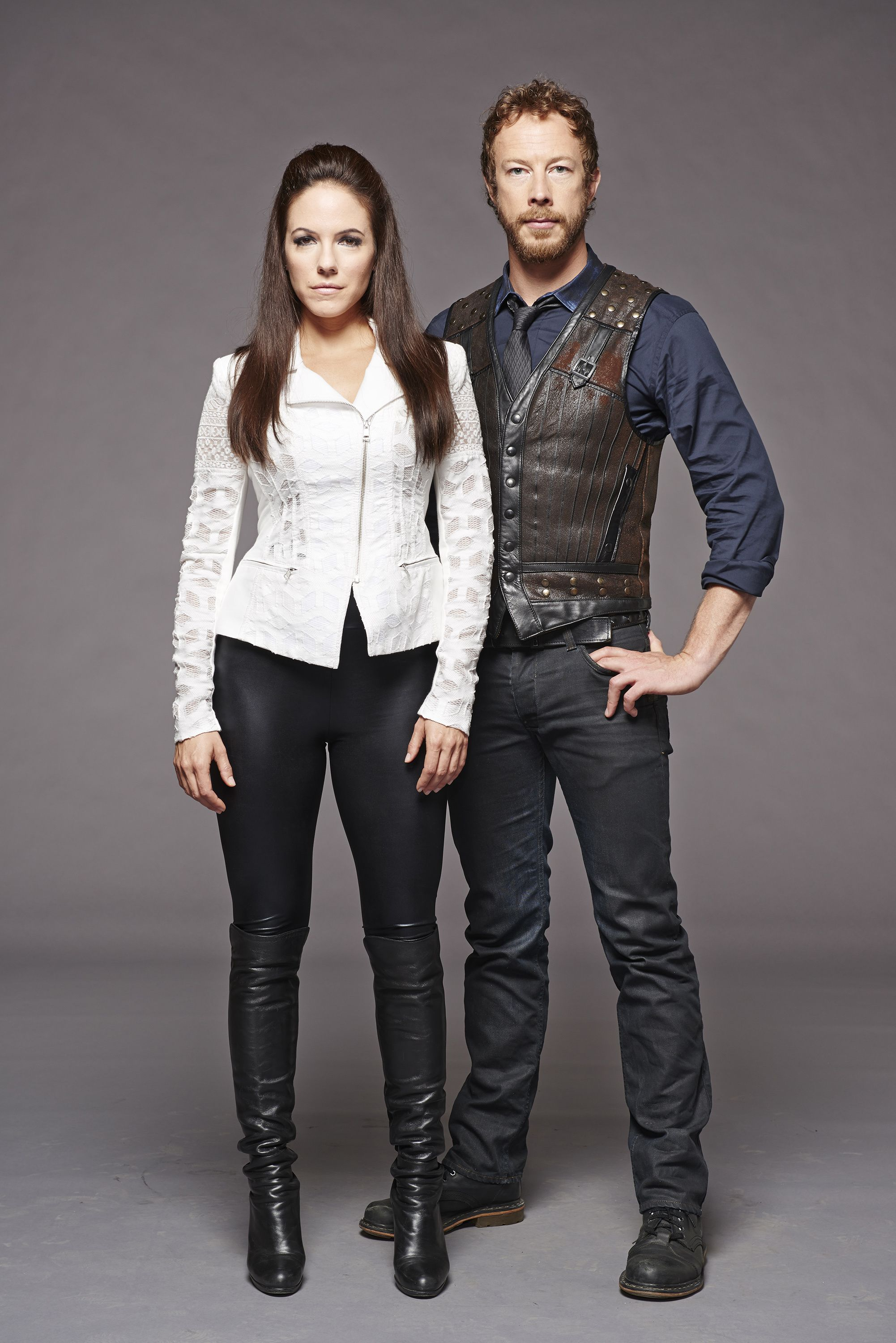 Anna Silk, Kris Holden-Ried | Bo and Dyson | Lost Girl ...Lost Girl Dyson S Partner