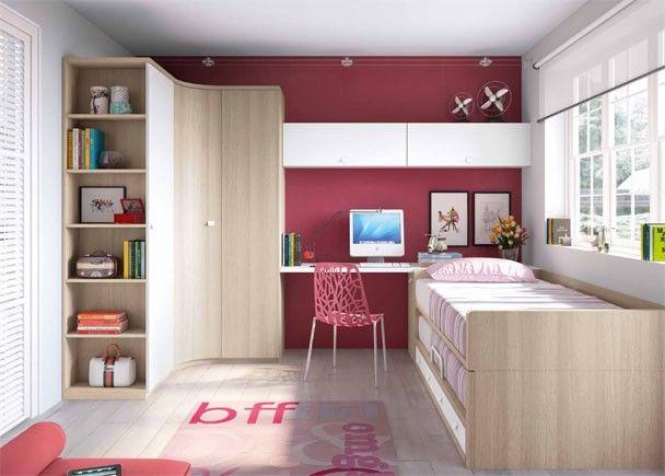 habitacin infantil habitacin juvenil con compacto y armario rincon habitacion juvenil ha sido