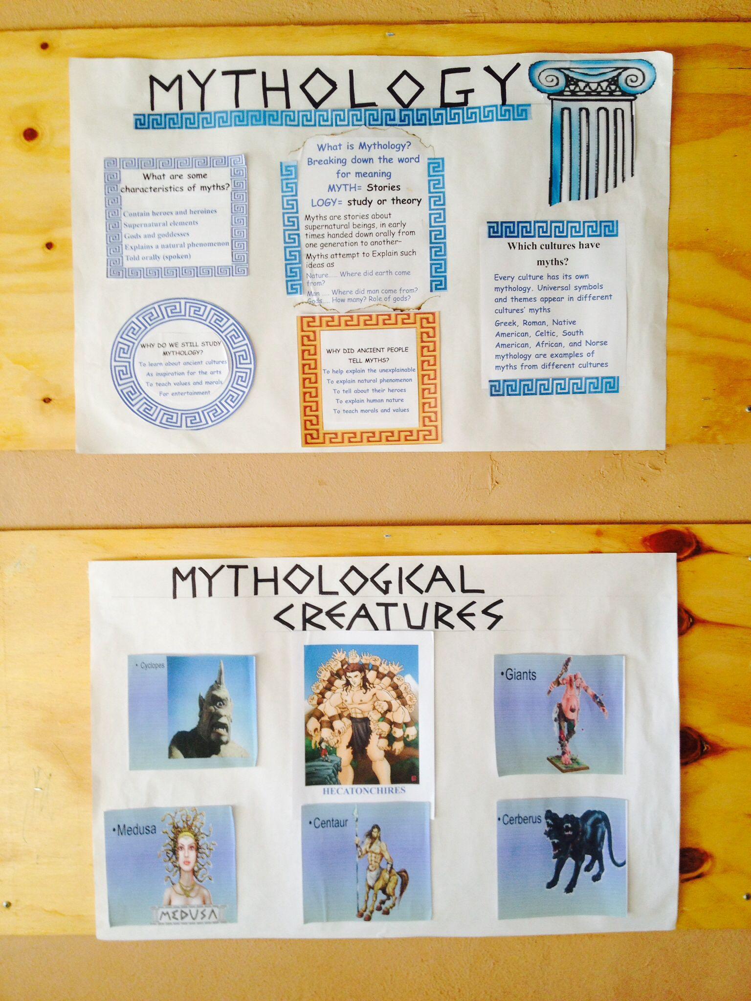 Mitologia Griega 1 | Periódico Mural | Pinterest