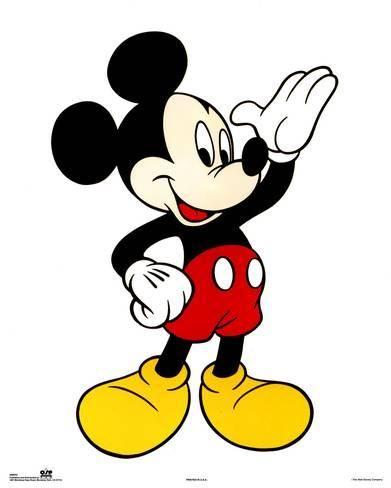 Walt Disney Mickey Mouse Classic Prints