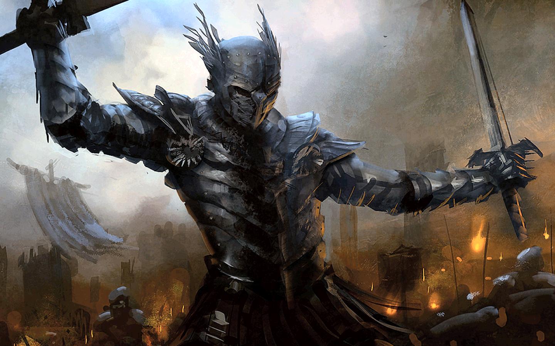 Fantasy Knight Wallpaper