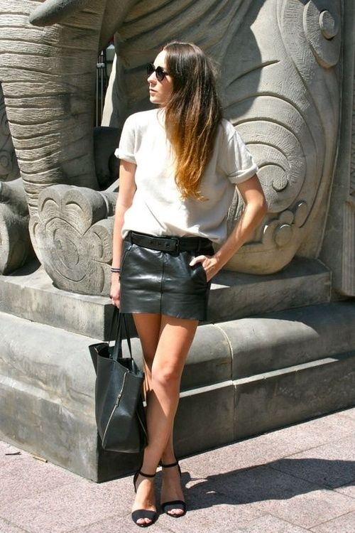 a good pair of leather shorts