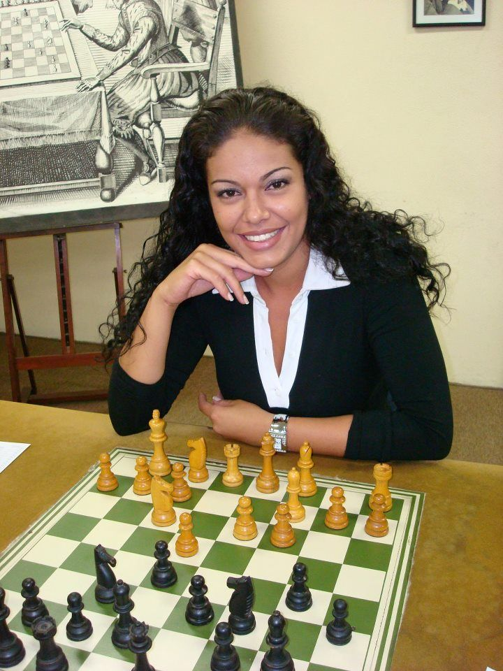Who is the woman chess master ?