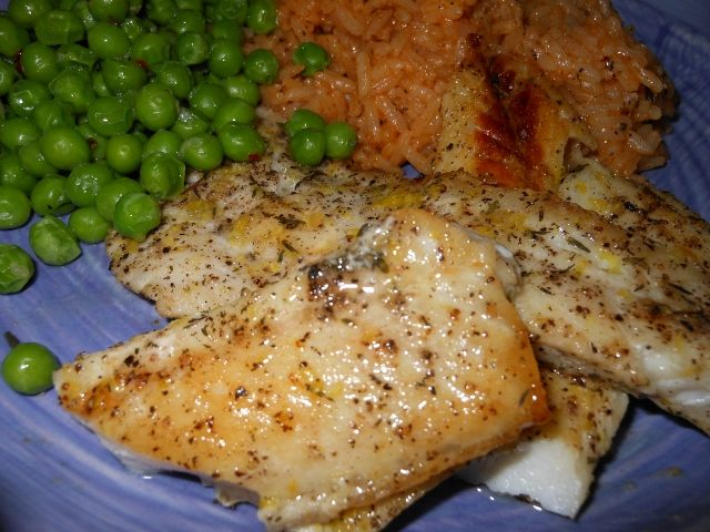 Lemon And Thyme Pan Seared Ocean Perch Good Eats Fish