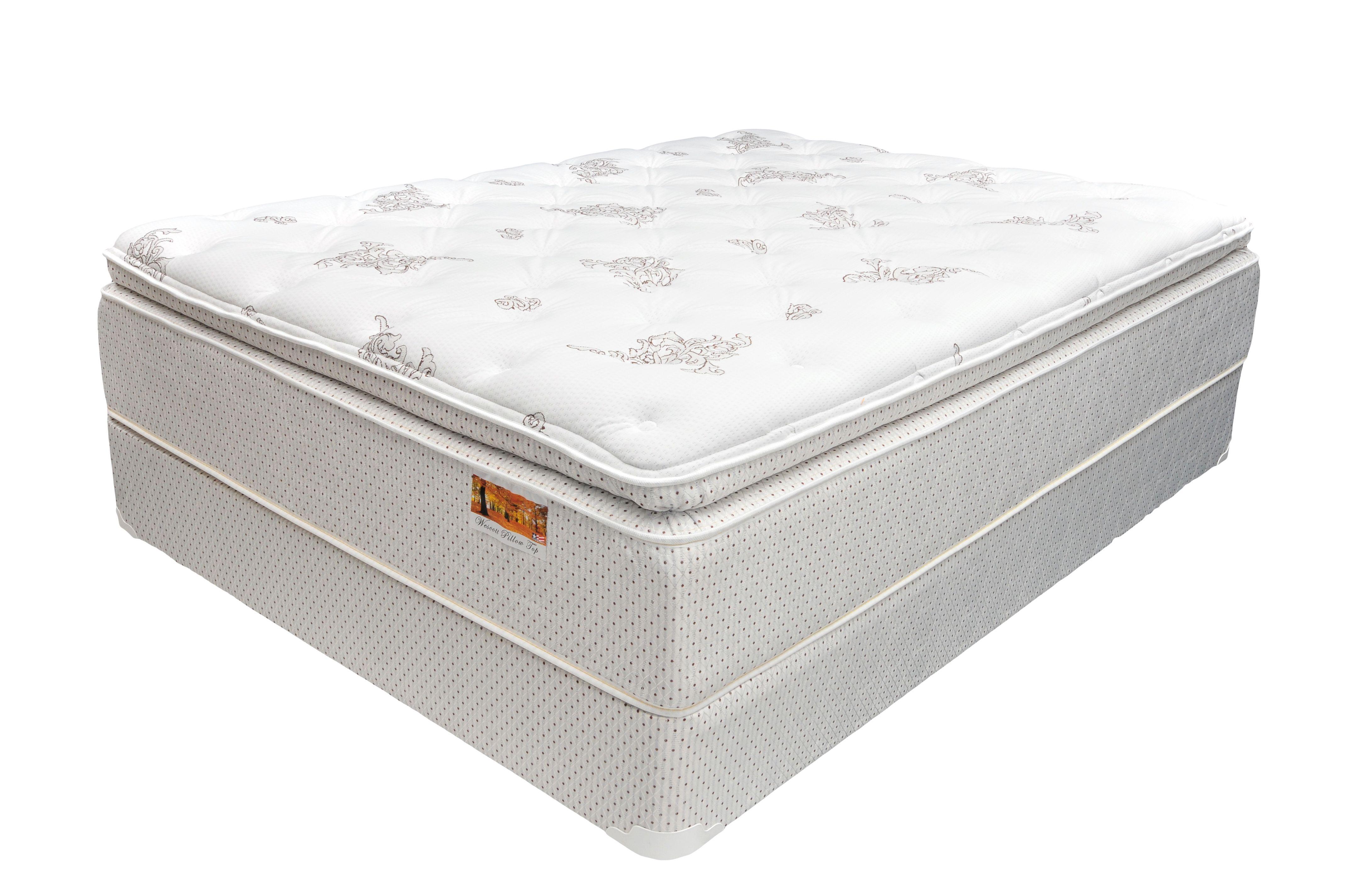 Buy Corsicana Bedding Marden Pillow Top Queen Mattress Set At Leon