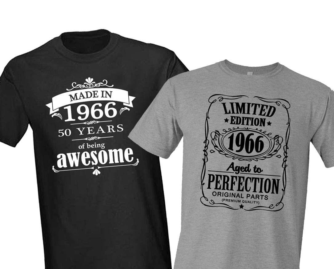 t shirt 50 jaar man
