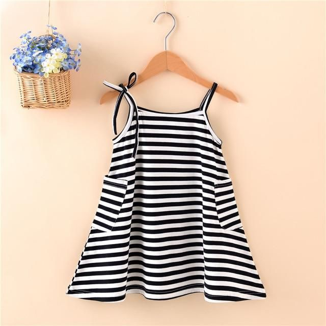98c47c36f Fashion mom and kids couple look stripe family matching outfits Baby Girls  clothes dress mother daughter