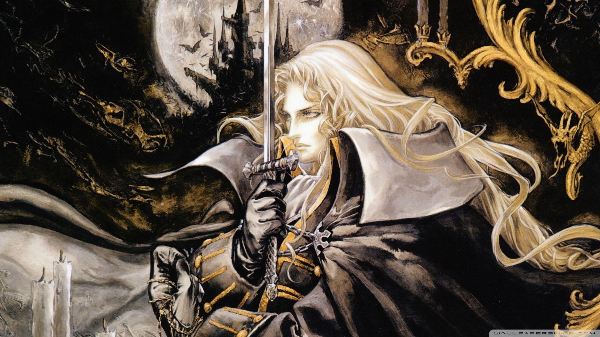 Castlevania Hd Wallpapers Backgrounds Wallpaper Alucard
