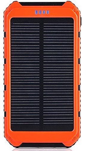 Solar Phone Charger Pyrus 10000mah Dual Usb Port Portable External Battery Power Bank For Iphone Sams Solar Charger Portable Solar Phone Chargers Solar Charger