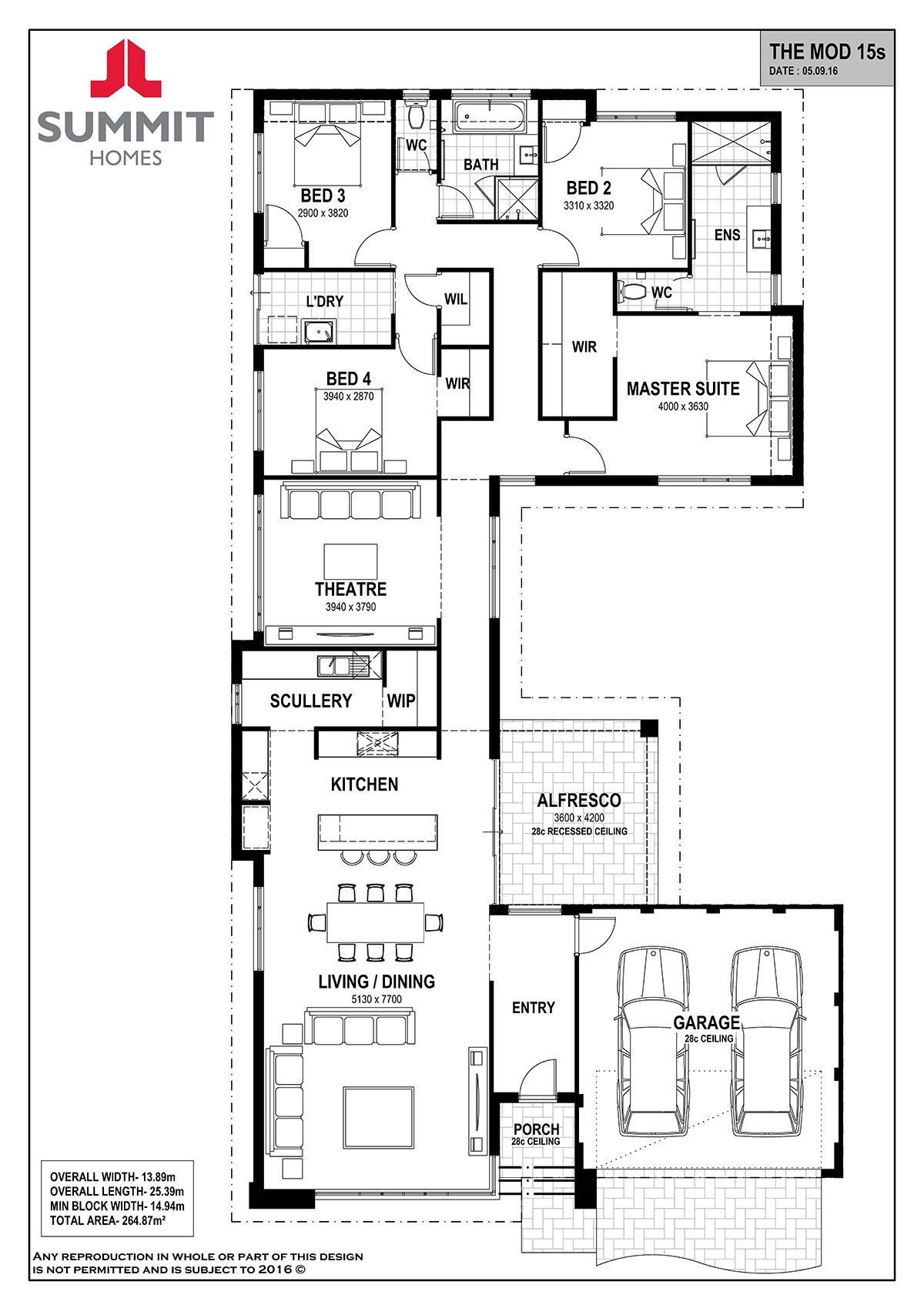 Floor Plan Friday Living On The Front Bedrooms On The