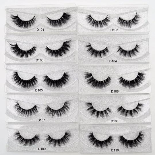 Lash Natural False Eyelashes 3D Real Mink Lashes Soft Thick Natrual Long Eyelash Extension MakeUp Glitter packing 27 Styles in 2020 - Mink eyelashes, Natural false eyelashes, False eyelashes - 웹