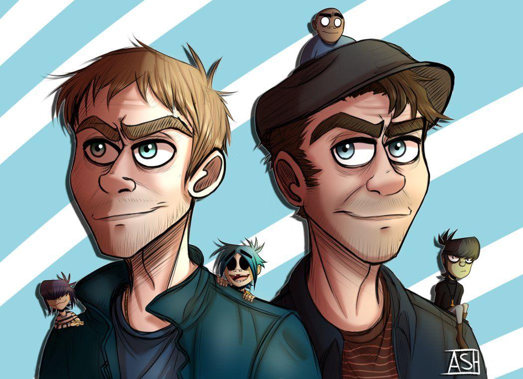 Fathers of gorillaz by ashesfordayz gorillaz gorillaz