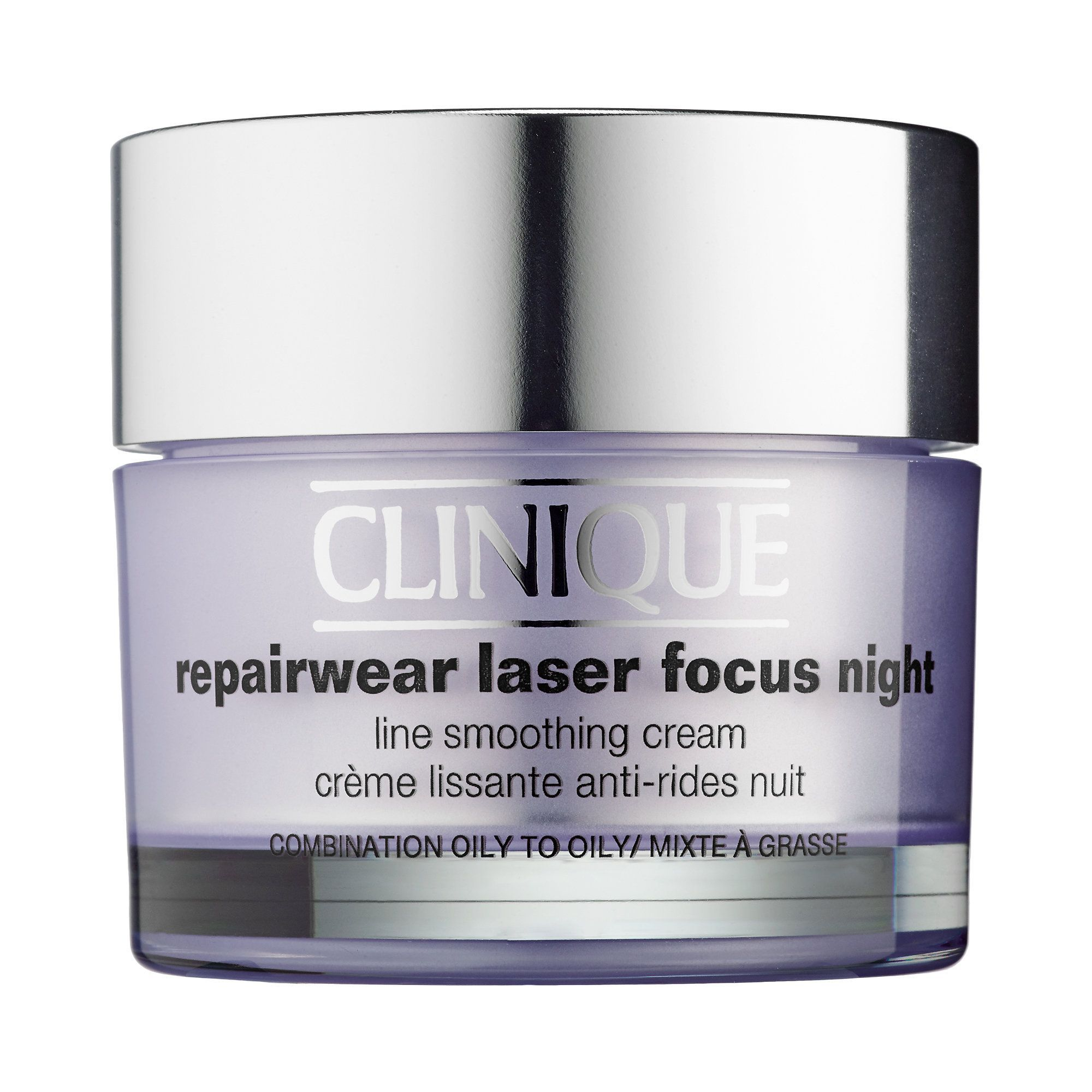 Shop Clinique S Repairwear Laser Focus Night Line Smoothing Cream For Combination Oily To Oily Skin At Sephora Smoothing Cream Clinique Repairwear Face Cream