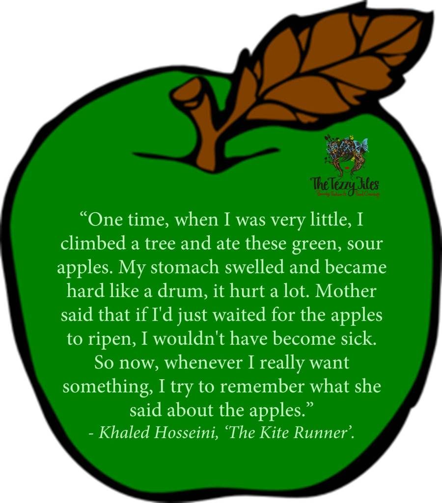 the kite runner amazing book definitely a rollercoaster of khaled hosseini quote sour apples kite runner