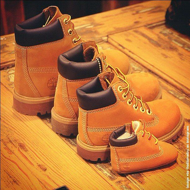 Aww family timbs. #Timberland | timbs in 2019 | Shoes, Baby