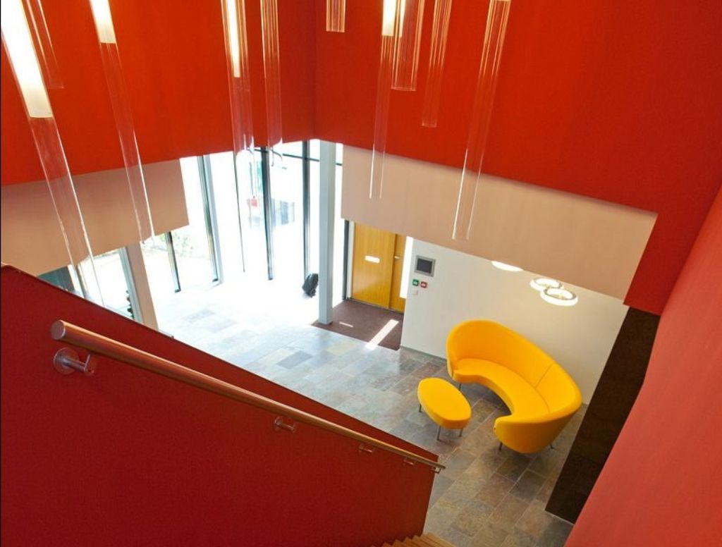 group contemporary office. Verkerk Group Contemporary Office Building Colorful Interior And Furniture S