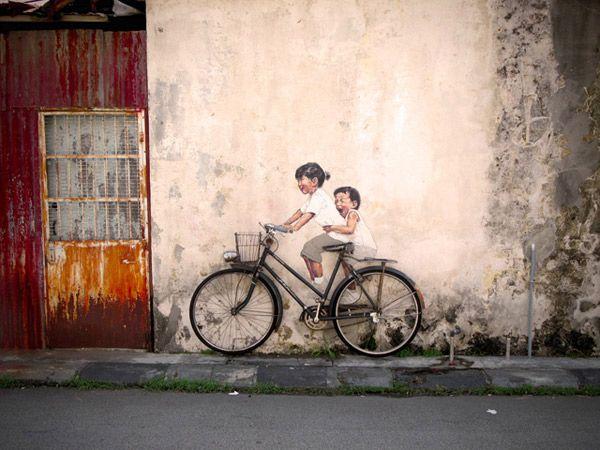Pintura interativa http://www.ideafixa.com/pinturas-interativas-nas-ruas-da-malasia