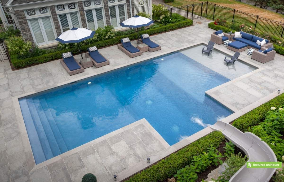 geometric pools - concrete betz