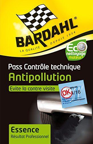 Bardhal 2009044 Pass Contrôle Technique Essence