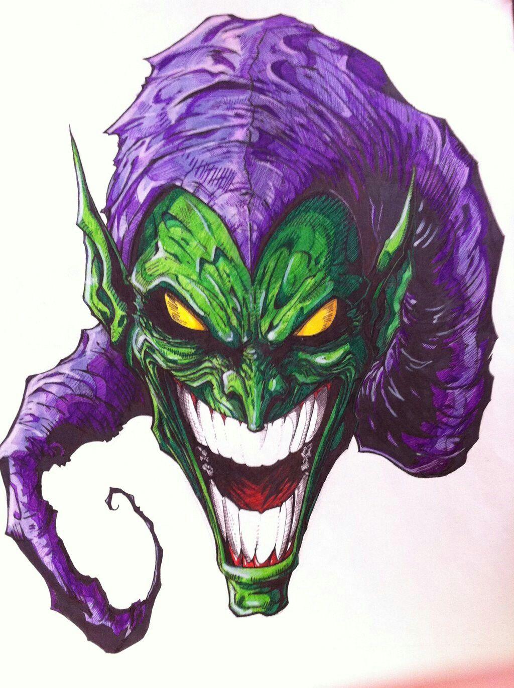 Green Goblin. | Realistic Art | Pinterest | Green goblin ...