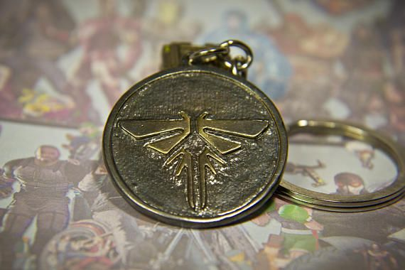 The last of us key chain firefly pendant last of us style the last of us key chain firefly pendant last of us style necklace gift 4 geek aloadofball Image collections