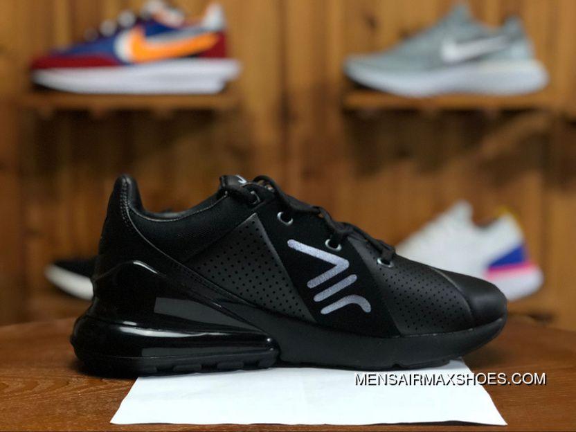 NIKE AIR MAX 270 PREMIUM AO8283 010 Mens Running Shoes Black