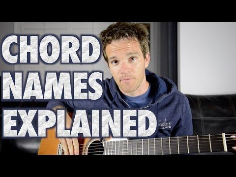 Guitar Essentials: The Easy Way to Understand Guitar Chord Names ...
