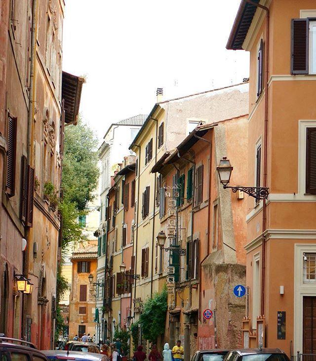 In love with #Trastevere