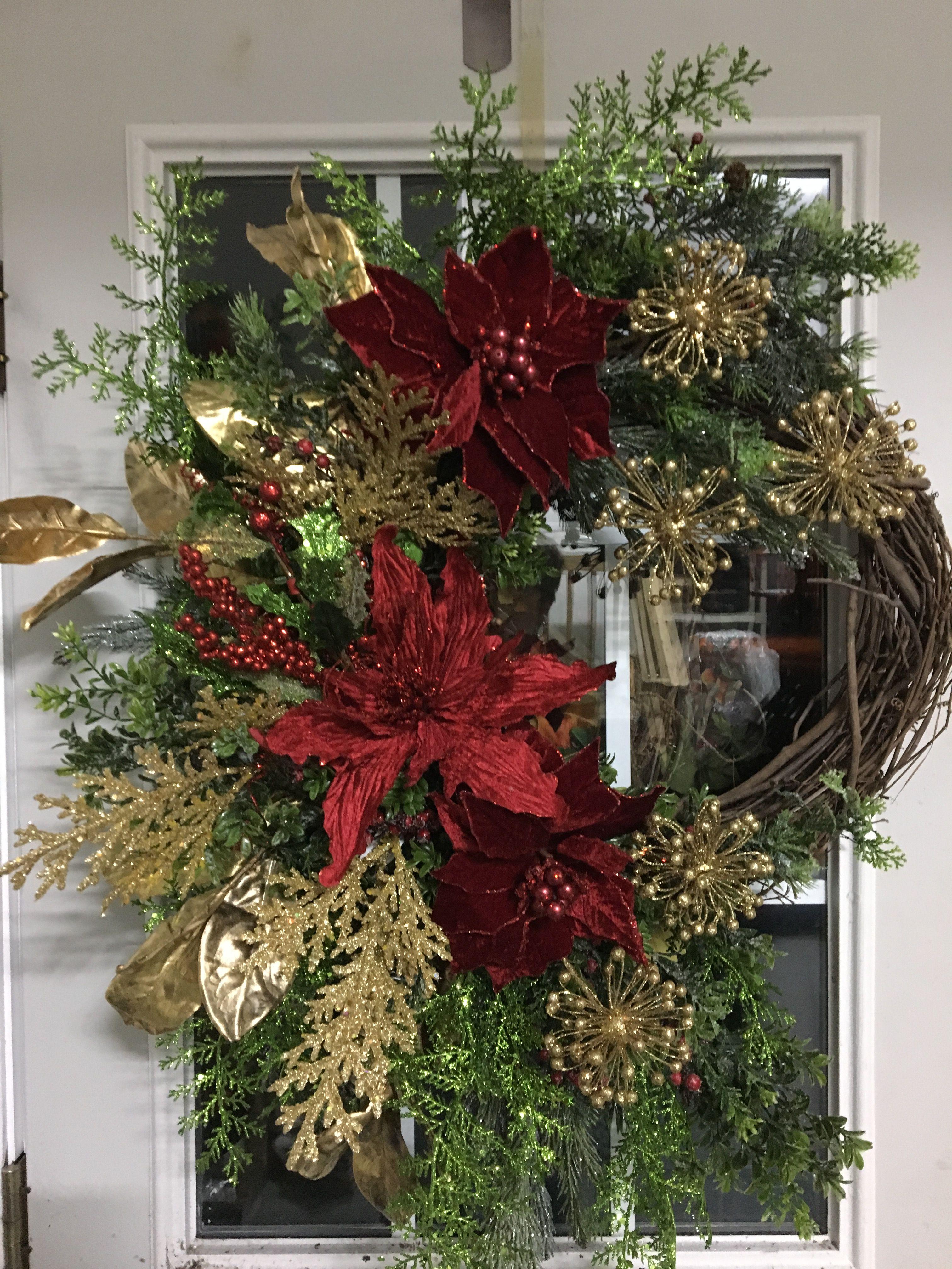 Christmas Wreaths, Christmas Stuff, Christmas 2017, Christmas Decor, Front Door