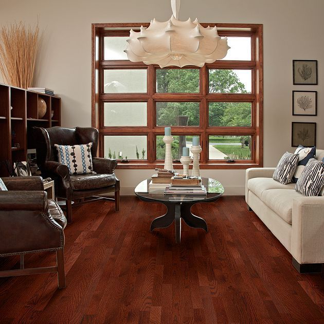 Dark Cherry Hardwood Flooring Available At Express Flooring Deer