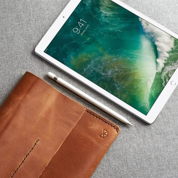 Light Brown iPad 9.7 10.2 Pro 10.5 11 & 12.9 inch Leather | Etsy