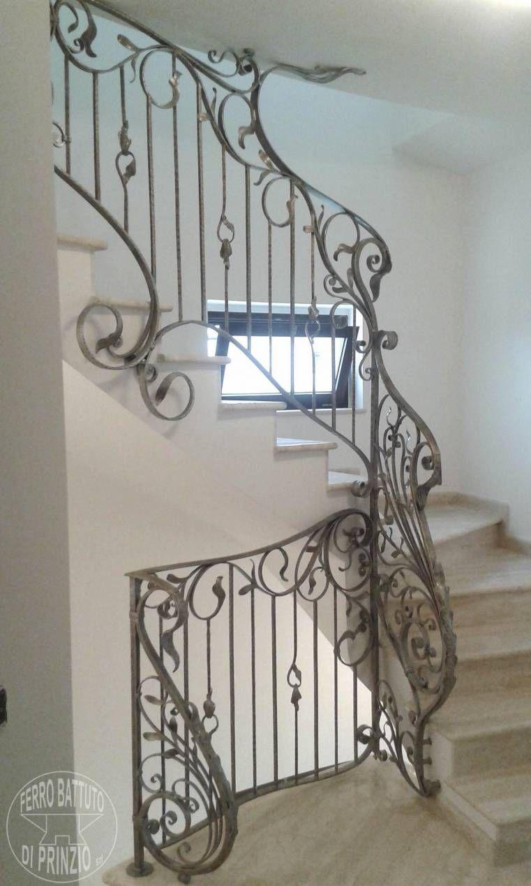 Colore Ringhiera Ferro Interna balustra interna in ferro battuto decorata (con immagini
