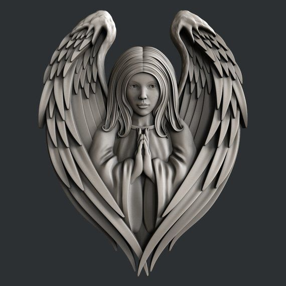 3d STL models for CNC router Angel in 2020 (With images