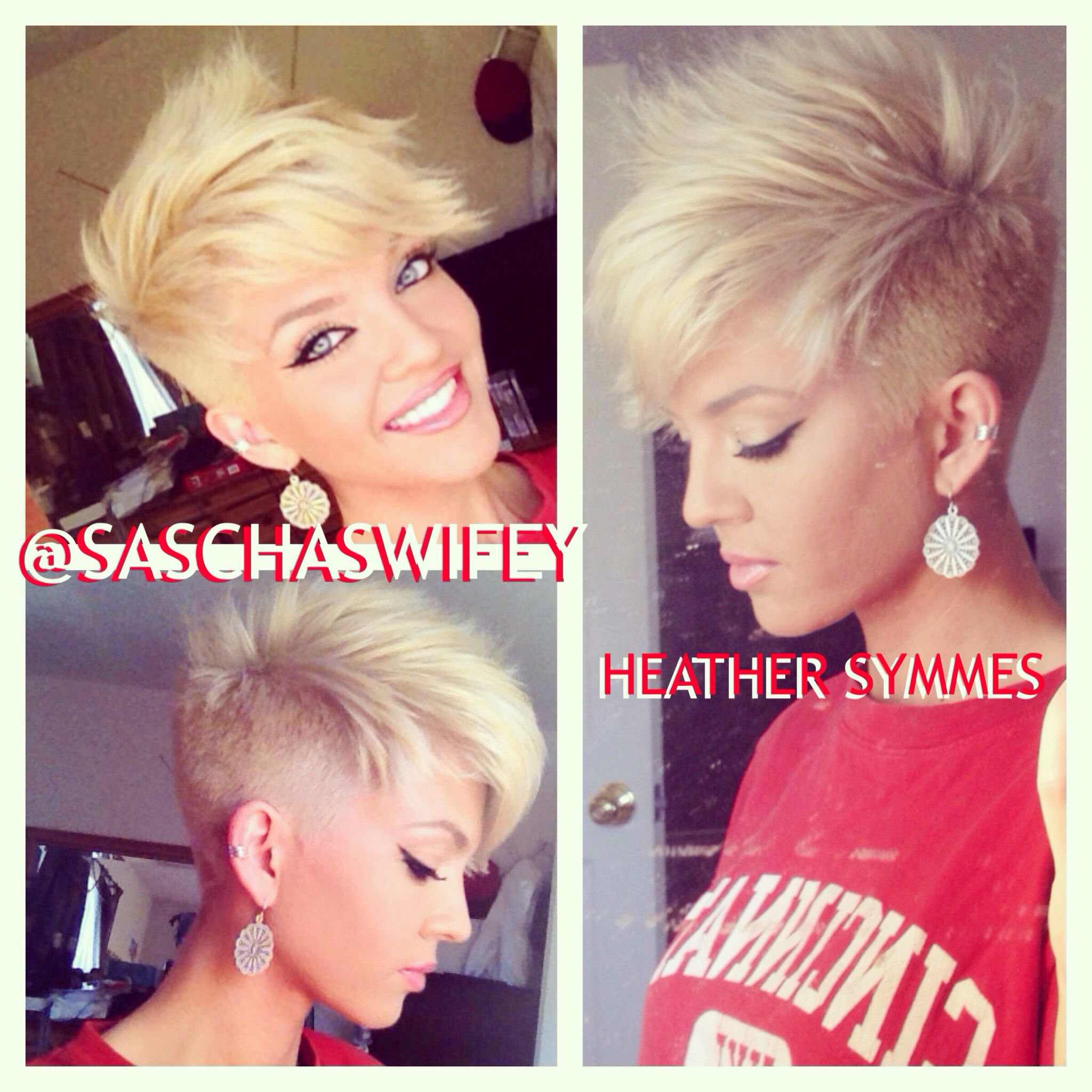 Possible next cut hair pinterest blonde pixie cuts blonde