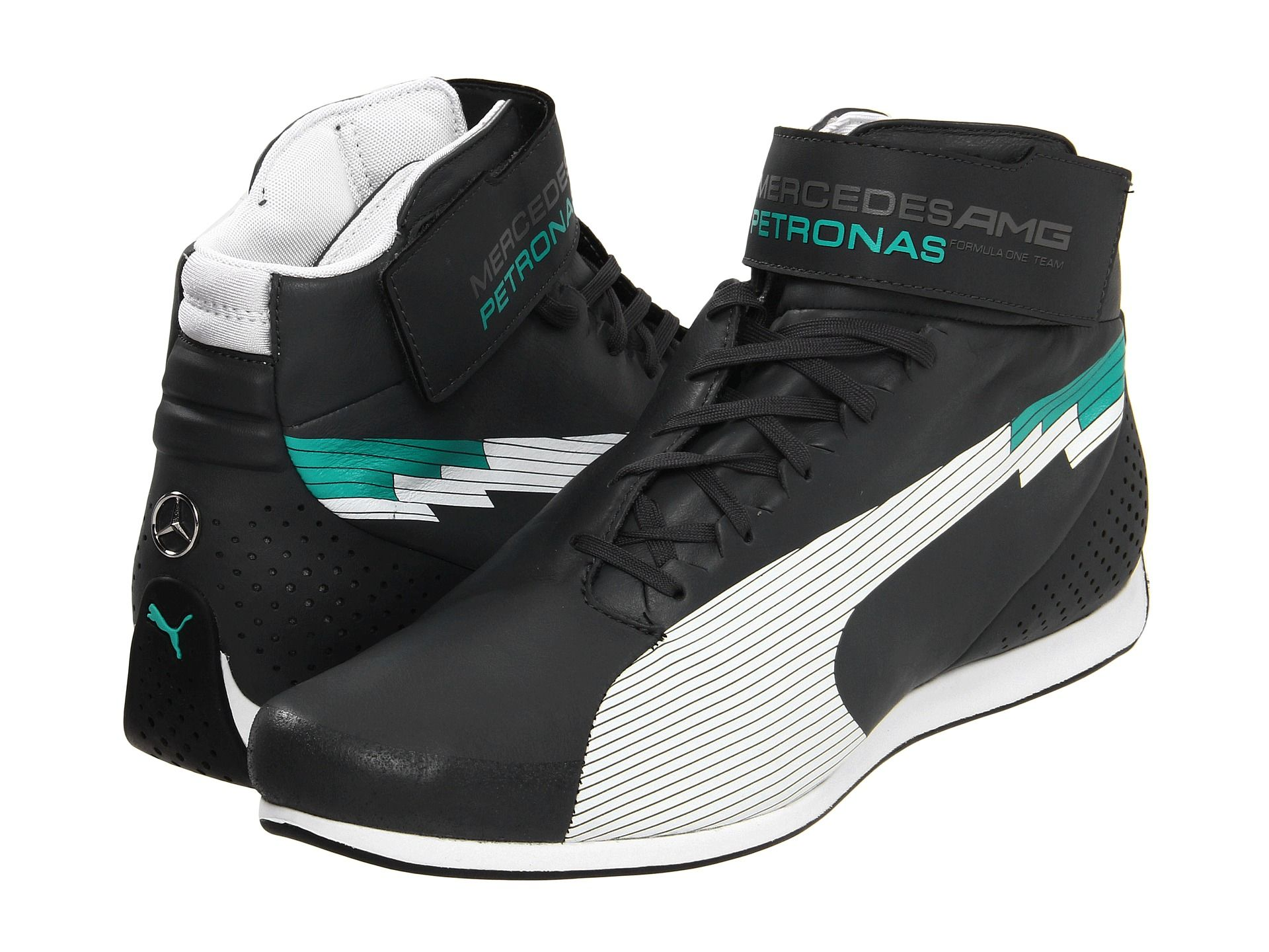 puma evospeed f1 mid mercedes amg petronas dark shadow. Black Bedroom Furniture Sets. Home Design Ideas