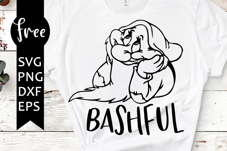 Photo of Bashful svg kostenlos, schneeweiß svg, disney svg, sofortiger download, shirt design, di …