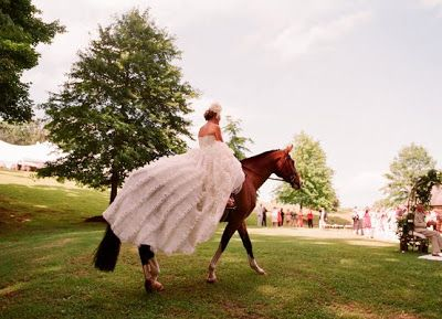 Inspiration: Equestrian Weddings