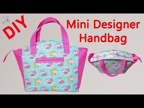 HANDBAG | ZIPPER HANDBAG MAKING | TOTE BAG | BAG MAKING | Coudre un sac | diy Bolsa