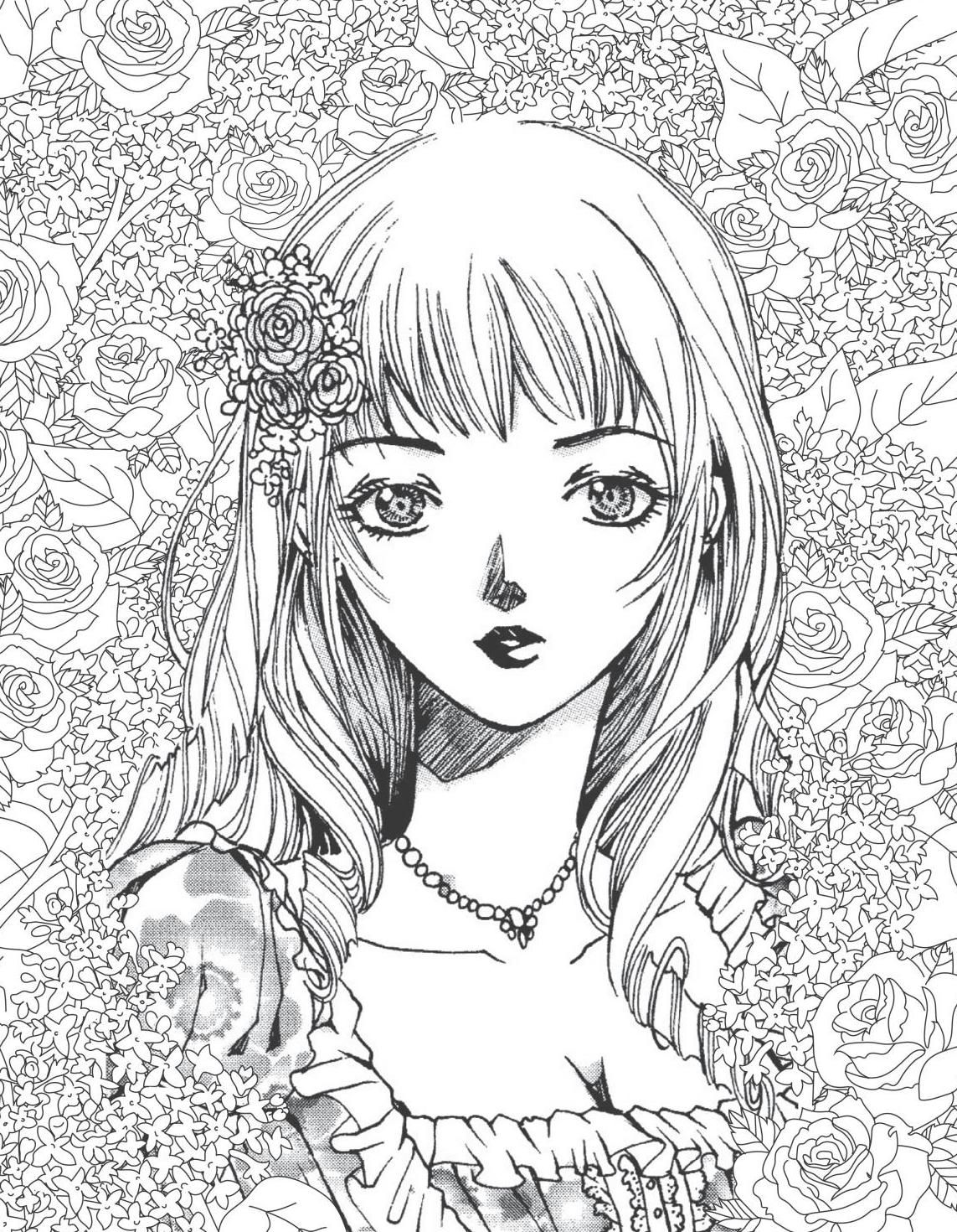 The Manga Artist\'s Coloring Book: Girls! | coloring | Manga artist ...