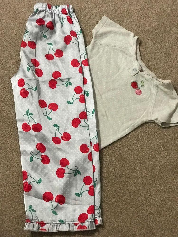 200a8da47 Carters girls 2 piece pajamas sleepwear Size 5 #fashion #clothing #shoes  #accessories