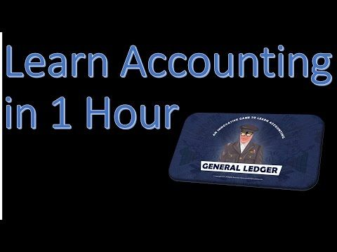 Learn Accounting In  Hour Lesson  Posting Entries To A Trial