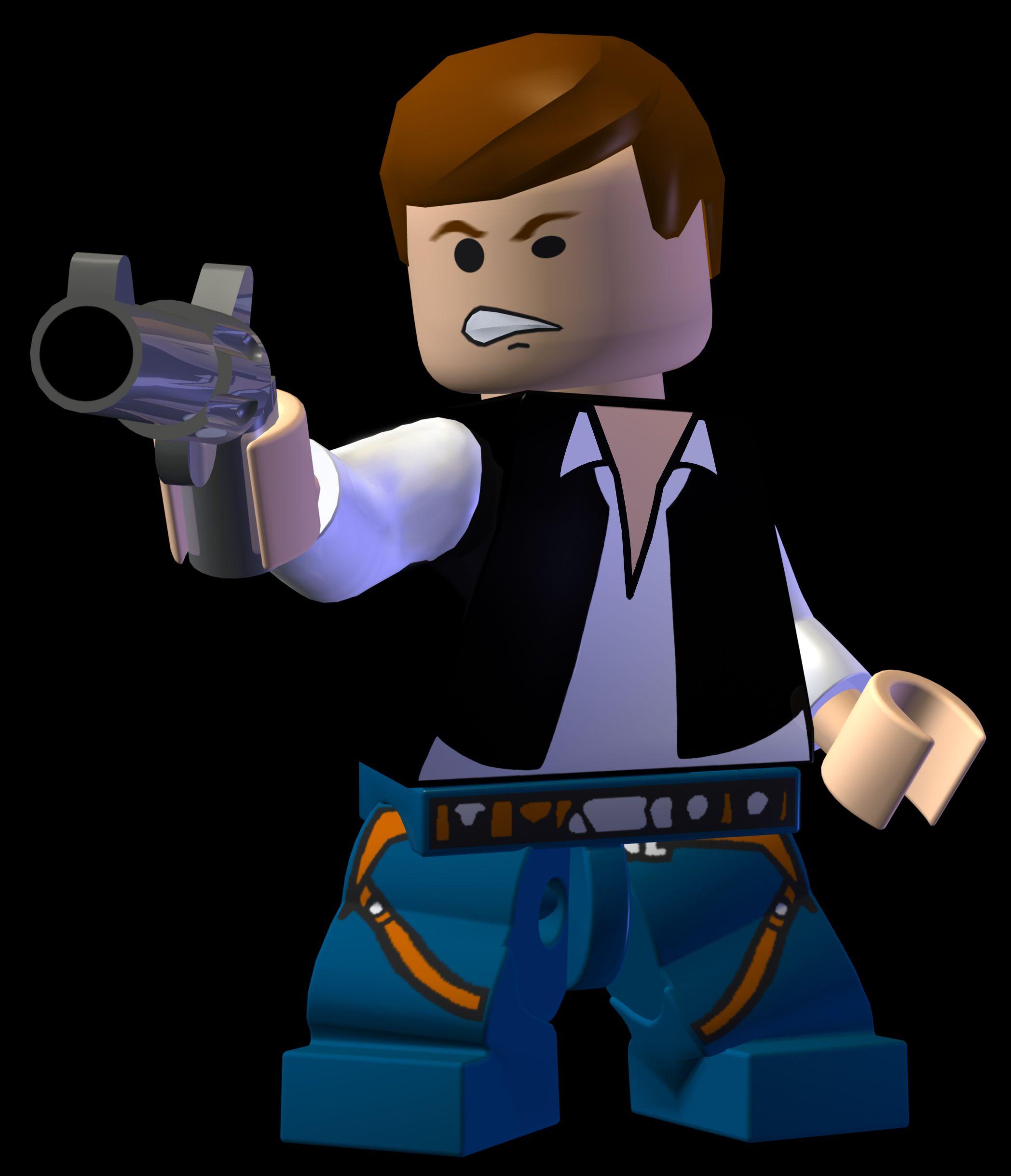 Han Solo Lego star wars, Star wars han solo, Star wars
