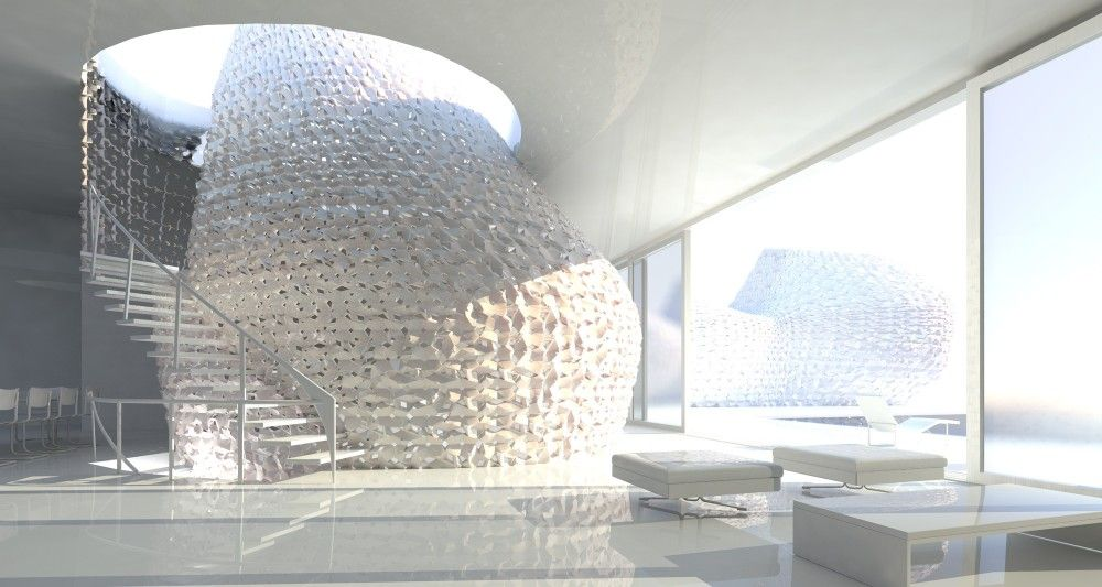 Emerging Objects Design 3d Printed Salt House 3d Printed House