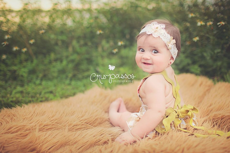 South Florida Baby Portrait Photographer | Giovanna {6 months old} » Cris Passos Photography | South Florida Newborn, Kids, Maternity and Family Photographer